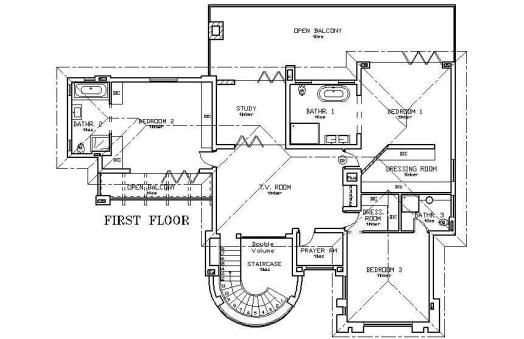 Double storey in Summerset ext 6 - plan