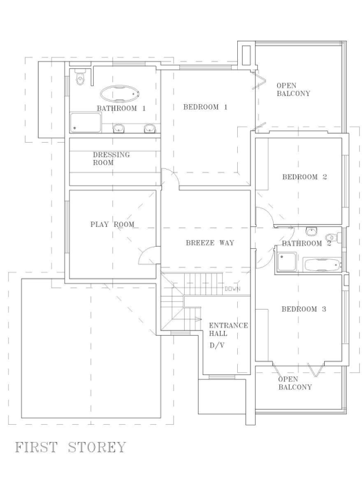 DS HOUSE IN THE HILLS PLANS 3