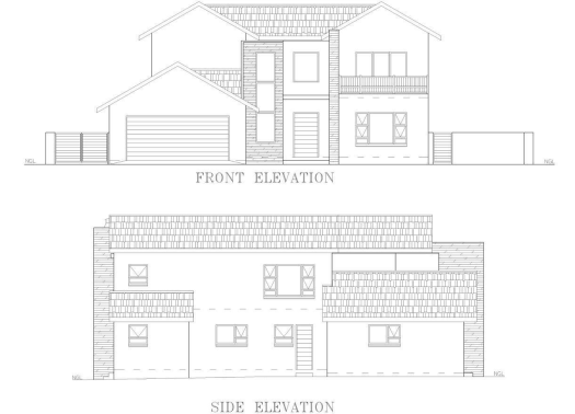 DS HOUSE IN THE HILLS PLANS